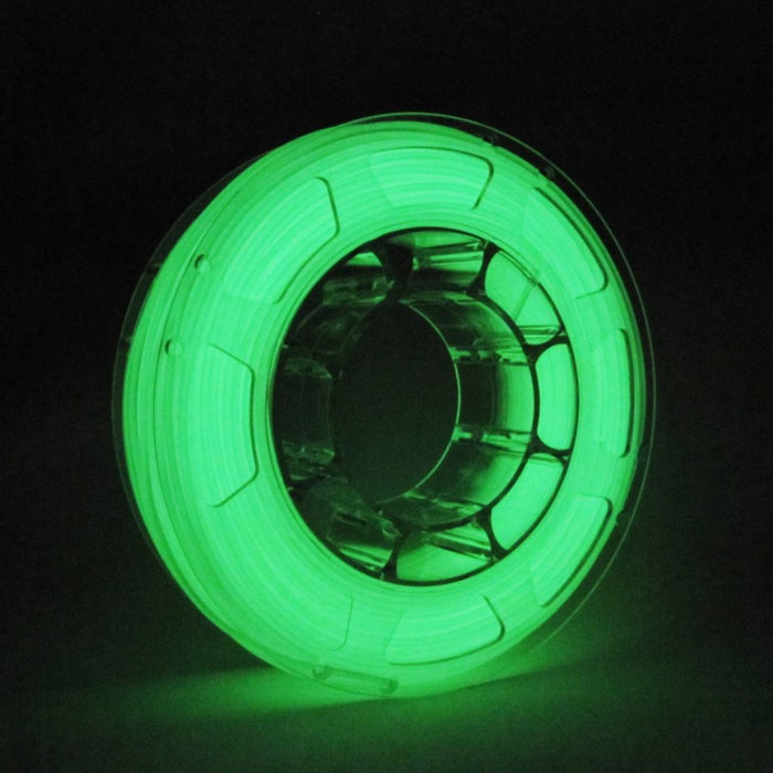 ABS Filament 1.75mm, 1Kg Roll - Glow-in-the-dark Green