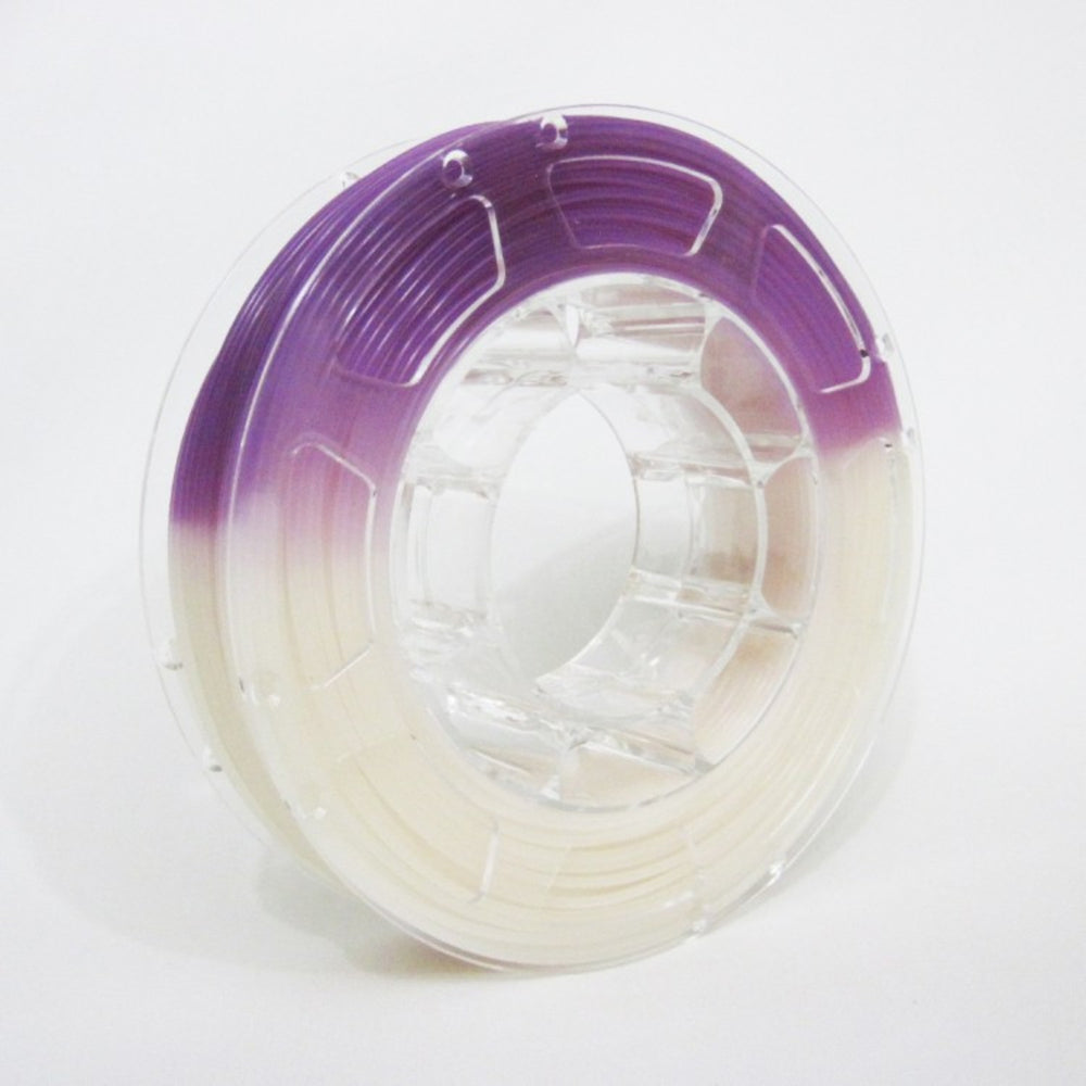ABS Filament 1.75mm, 1Kg Roll - UV Change to Purple