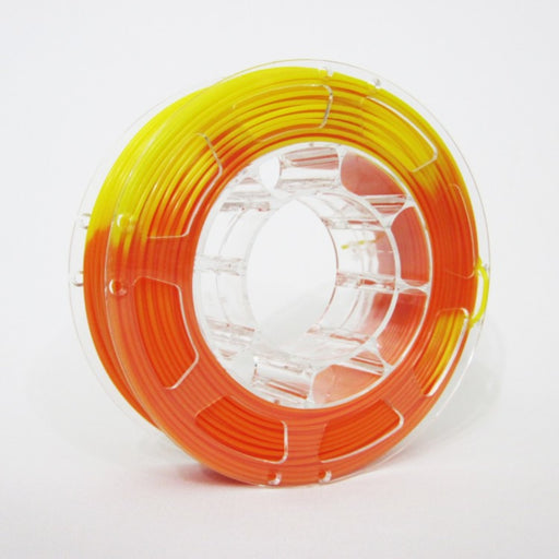 ABS Filament 1.75mm, 1Kg Roll - Temperature Change Orange to Yellow