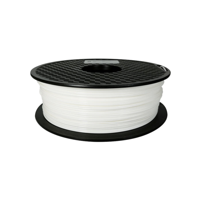 PLA Filament 1.75mm, 1Kg Roll - White (new)