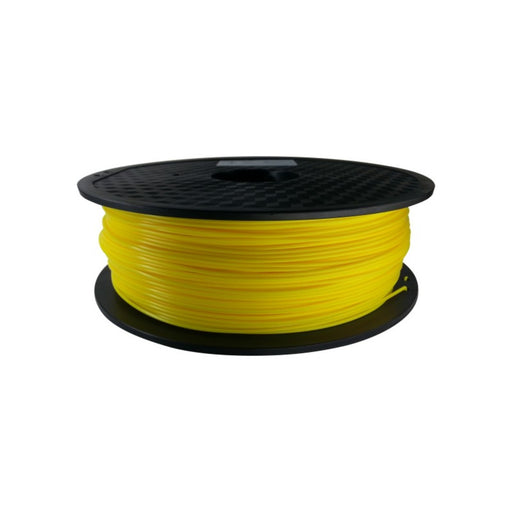 PLA Filament 1.75mm, 1Kg Roll - Yellow
