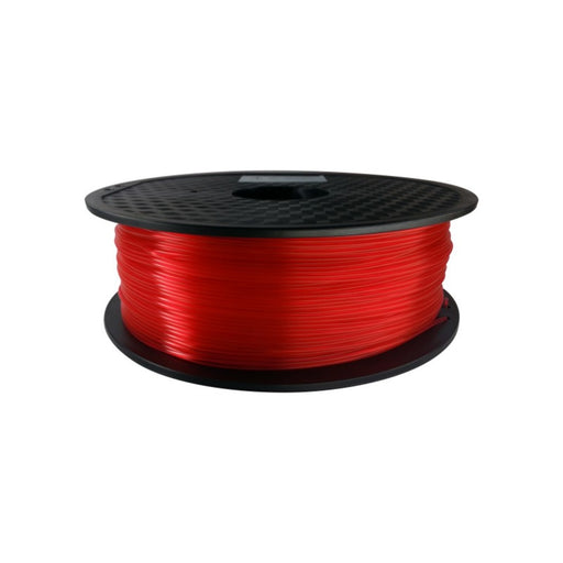 PLA Filament 1.75mm, 1Kg Roll - Transparent Red
