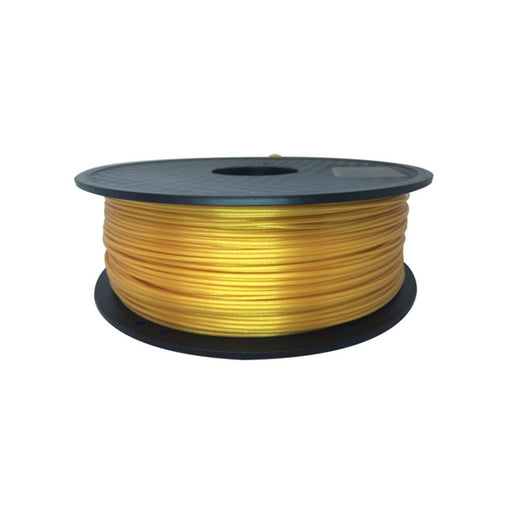 PLA Filament 1.75mm, 1Kg Roll - Real-Gold-Like