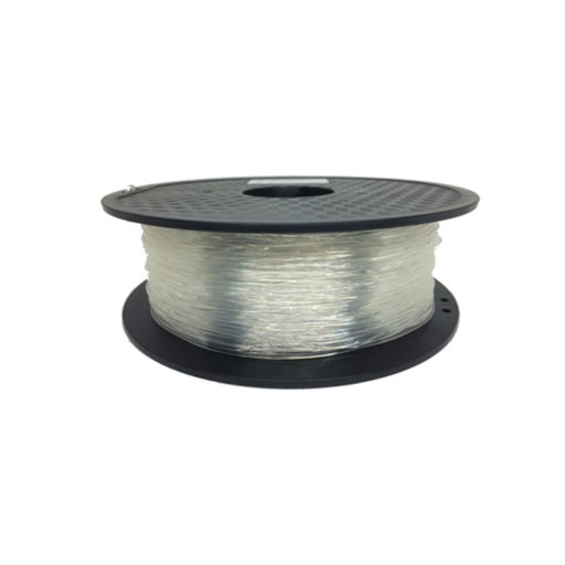 FLEXIBLE Filament 1.75mm, 0.8Kg Roll - Clear / Transparent
