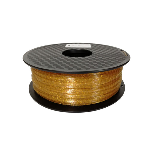 Shining PLA Filament 1.75mm, 1Kg Roll - Gold