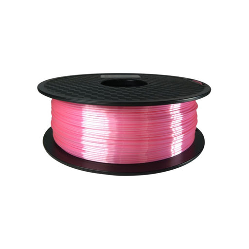 Silk-Like PLA Filament 1.75mm, 1Kg Roll - Pink