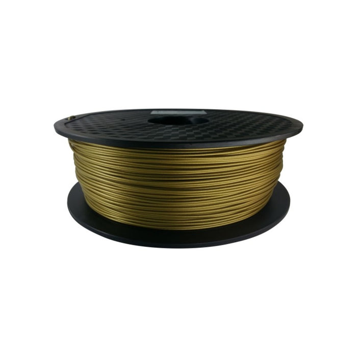 PLA Metal Filled Filament 1.75mm, 1Kg Roll - Frosted Bronze