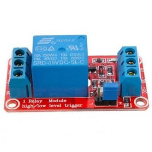 5V 1 Channel H/L Level Trigger Optocoupler Relay Module For Arduino