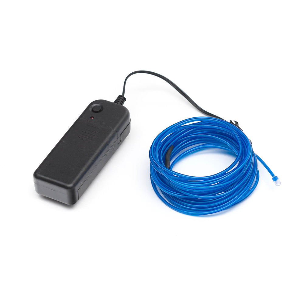 EL Wire - Blue 5m With Inverter