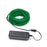 5M Flexible el wire with battery holder 5mm - Green