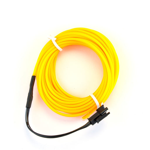 EL Wire - Yellow 5m With Inverter