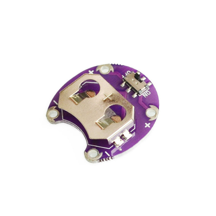 Lilypad Battery Holder with Switch