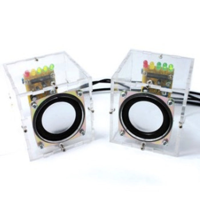 DIY Transparent Mini Amplifier Speaker Kit
