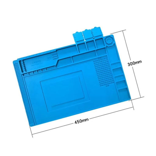 Heat Resistant Magnetic Silicone mat300x450mm