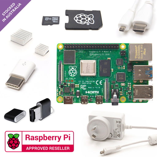 Little Bird Raspberry Pi 4 Essentials Kit (2GB)