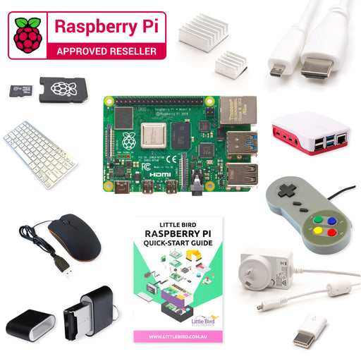 Little Bird Raspberry Pi 4 Complete Starter Kit (1GB)