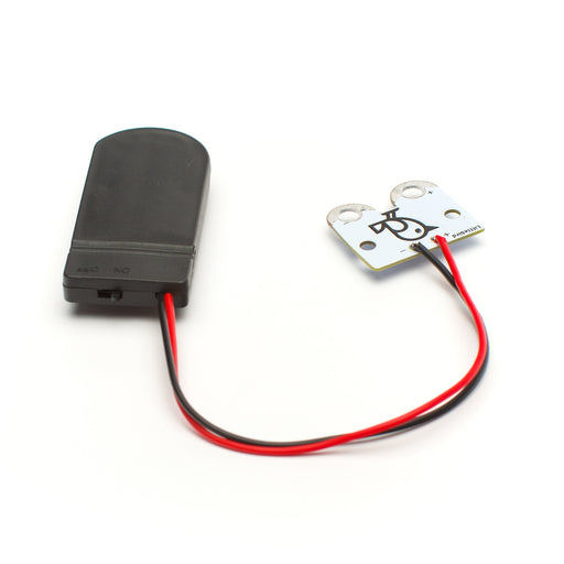 Safe Battery Pack Holder for CR2032 - screw closed