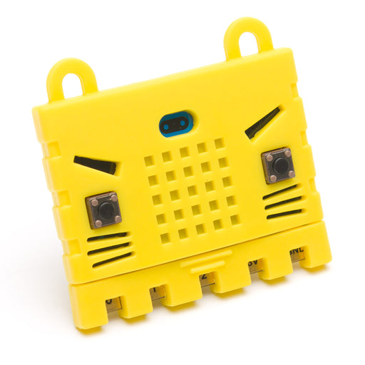 Micro:bit Rubber Case in Yellow