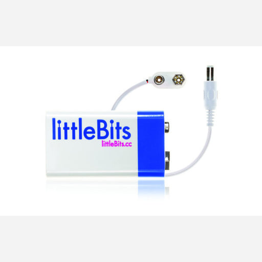 LittleBits 9v battery & cable