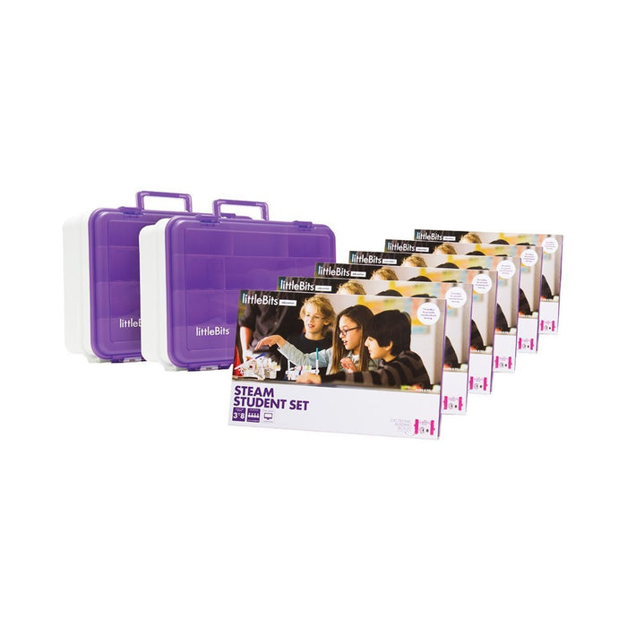 LittleBits STEAM Education Class Pack, 18 Students