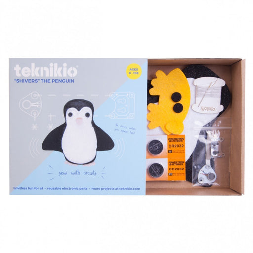 Teknikio Kit - Shivers The Penguin