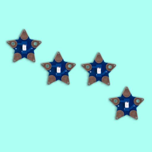 Teknikio Components - Star LED (4 Pack)