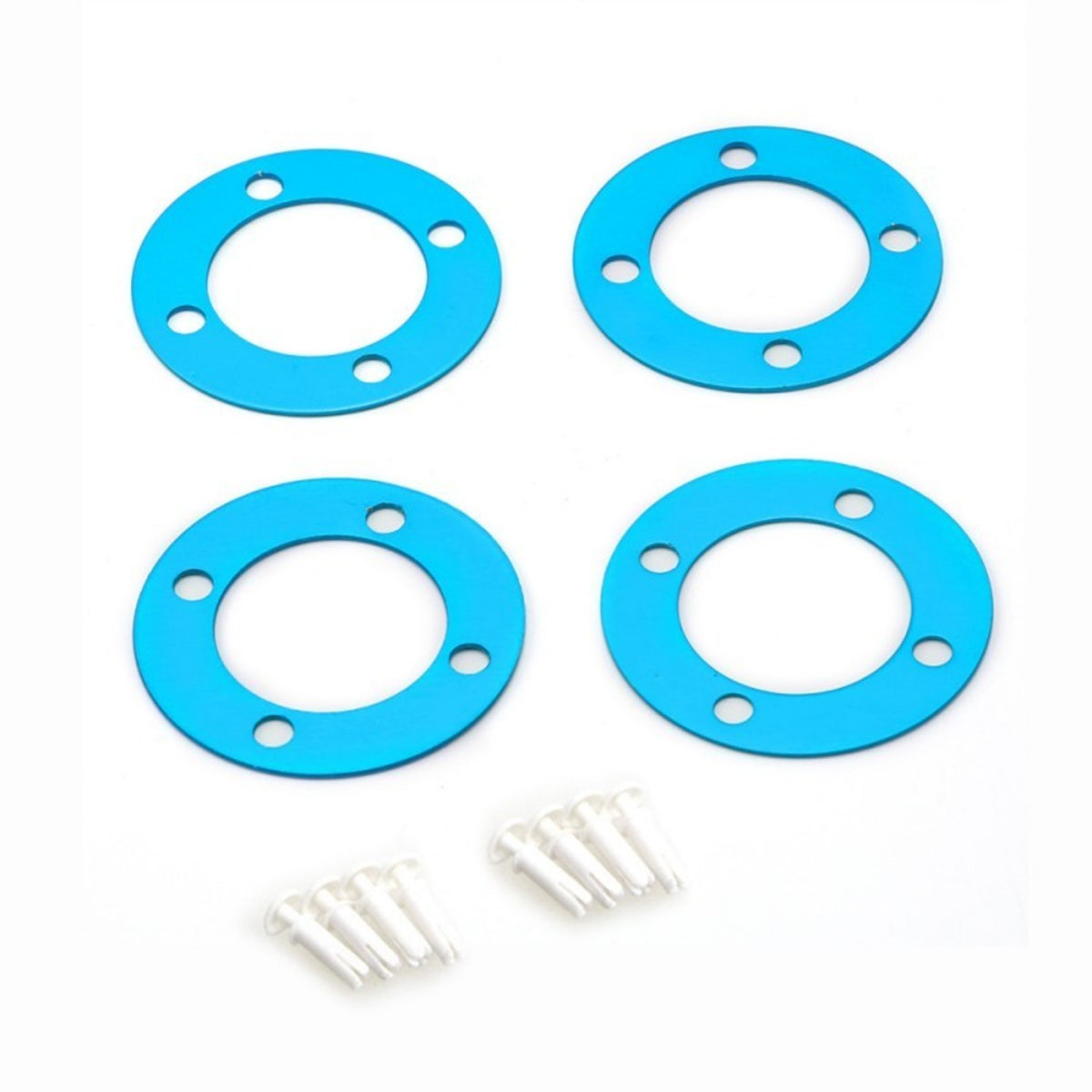 4-pack Makeblock TIMING PULLEY Slice 62t B-Blue mb83024