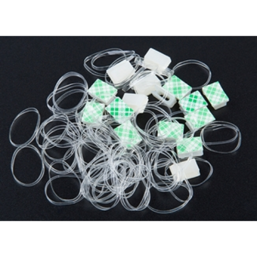 Neuron Fixed Clips(16) & Rubber Bands(80)