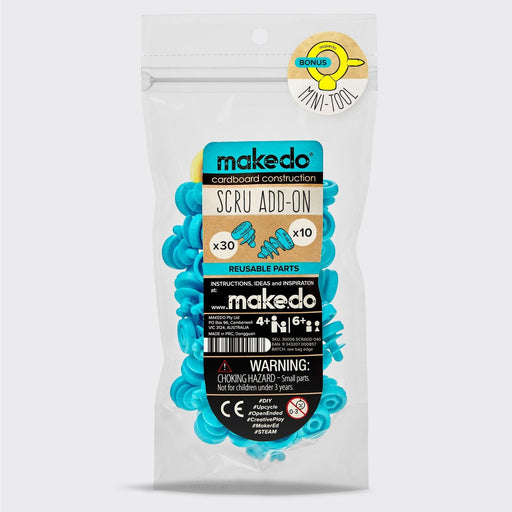 Makedo Scru Add-On Pack