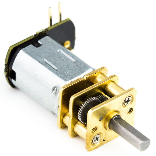 Micro Metal Gearmotor with Push Header Shim - 11:1