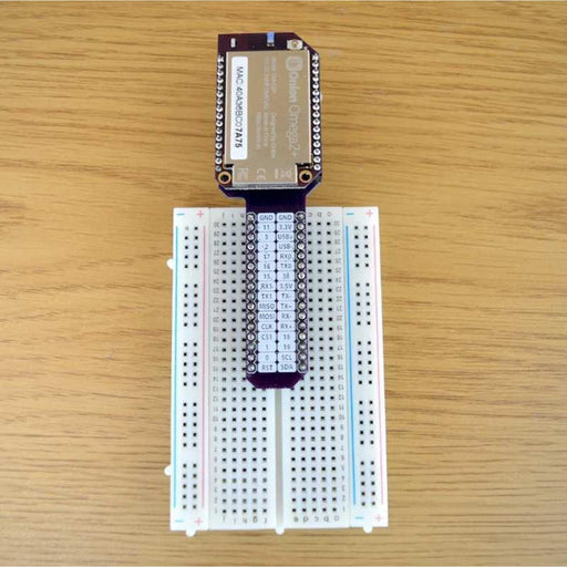 Breadboard Dock for Onion Omega2