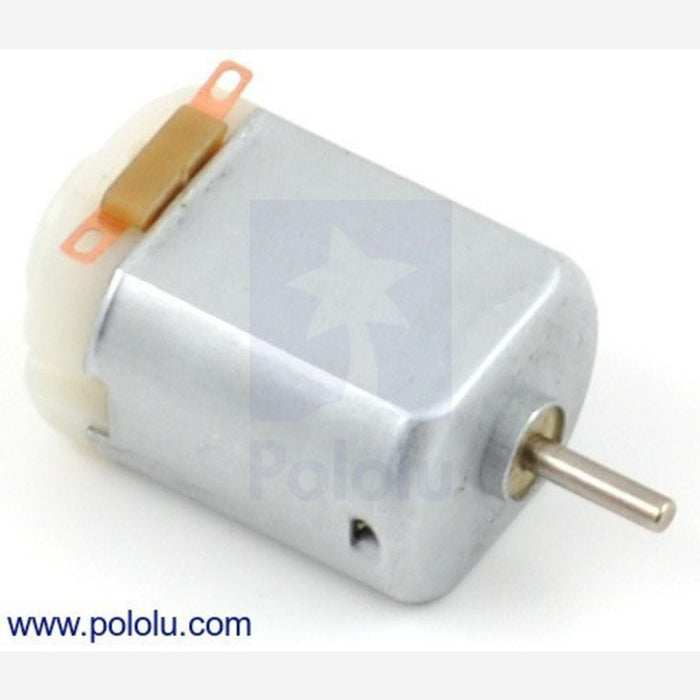 Brushed DC Motor: 130-Size, 6V, 11.5kRPM, 800mA Stall