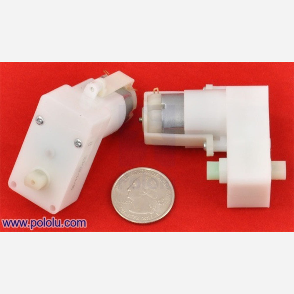 228:1 Plastic Gearmotor, Offset Output