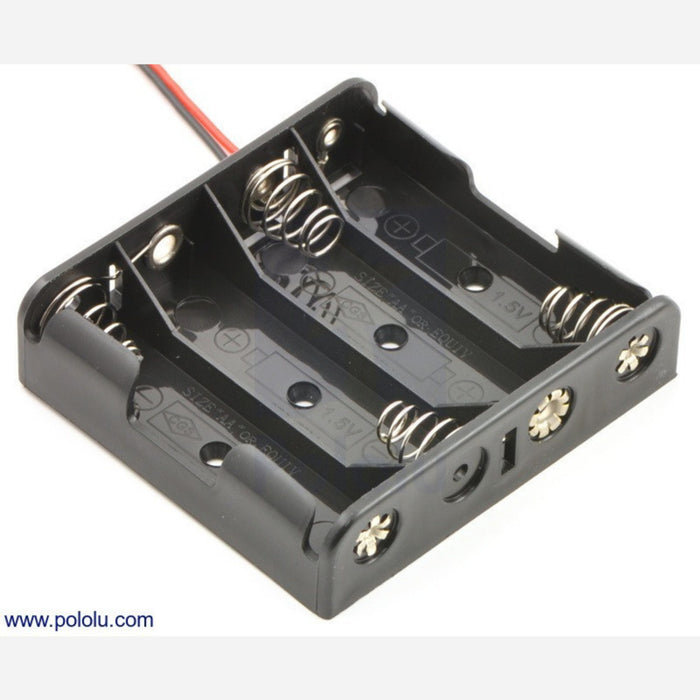 4-AA Battery Holder