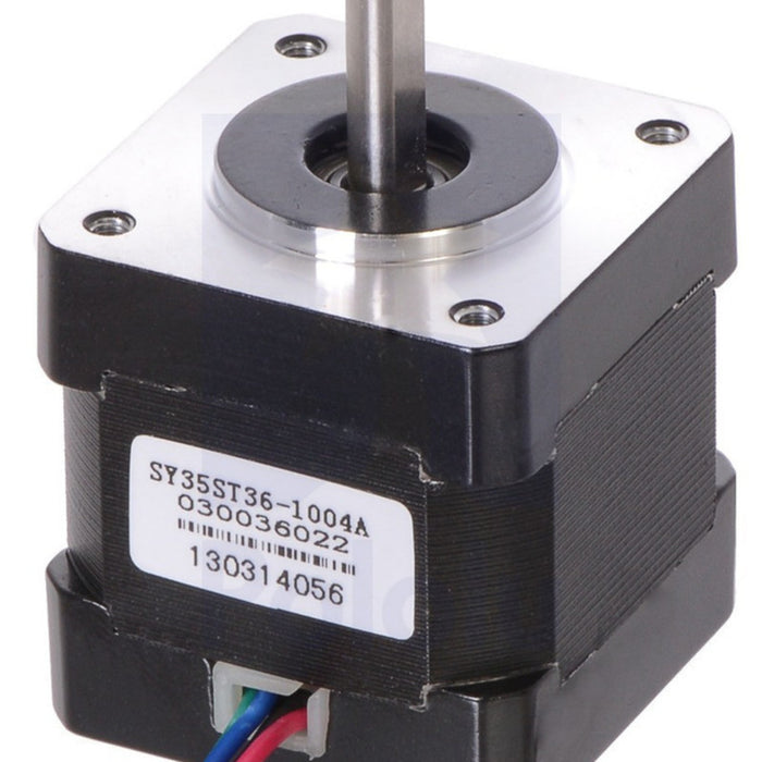 Stepper Motor: Bipolar, 200 Steps/Rev, 35x36mm, 2.7V, 1 A/Phase