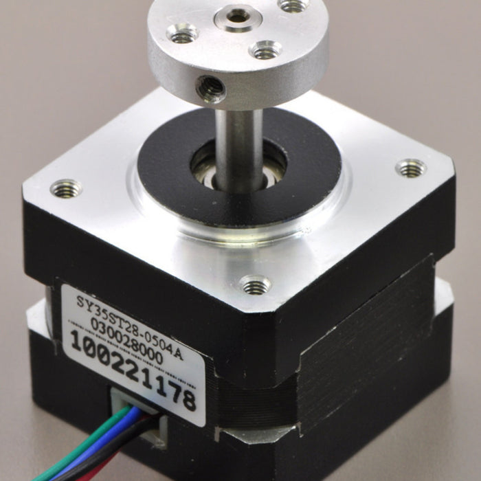 Stepper Motor: Bipolar, 200 Steps/Rev, 57x56mm, 2.5V, 2.8 A/Phase