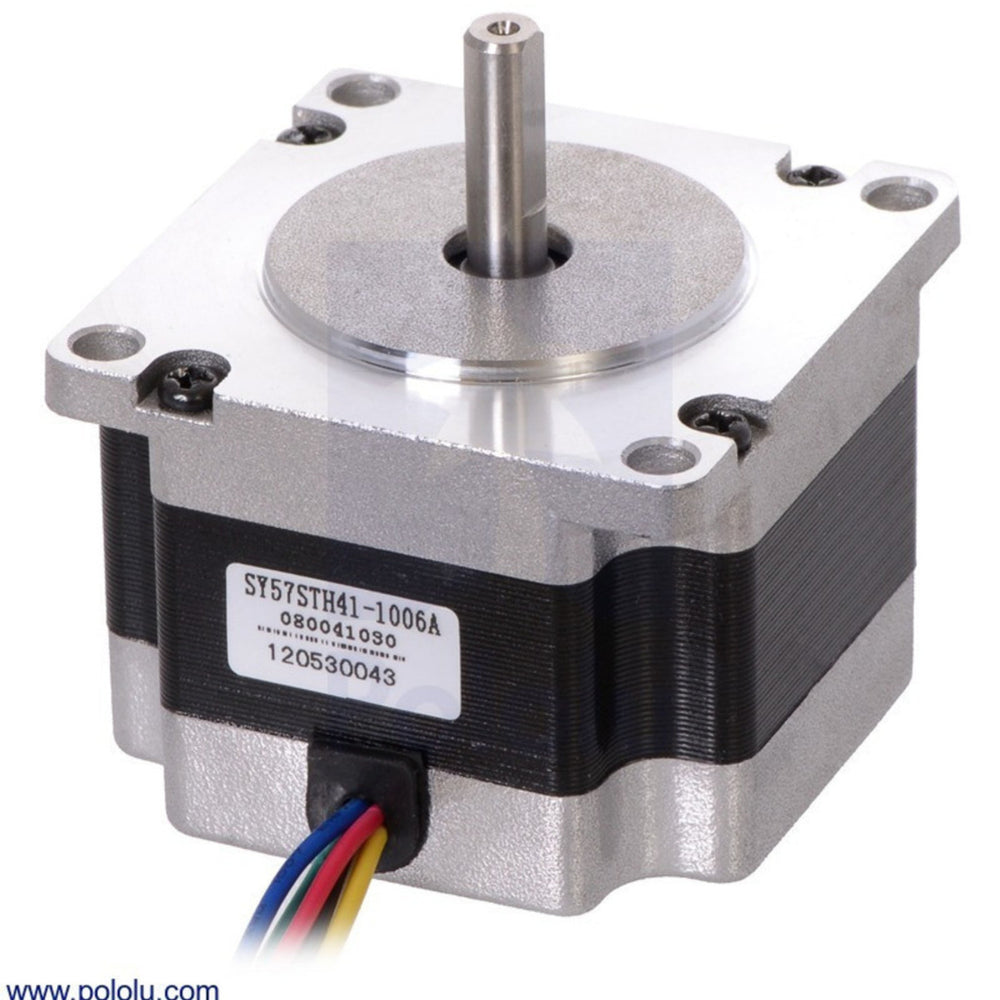 Stepper Motor: Unipolar/Bipolar, 200 Steps/Rev, 57x41mm, 5.7V, 1 A/Phase