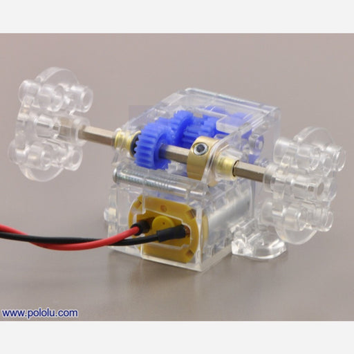 Tamiya 70189 Mini Motor Low-Speed Gearbox (4-Speed) Kit
