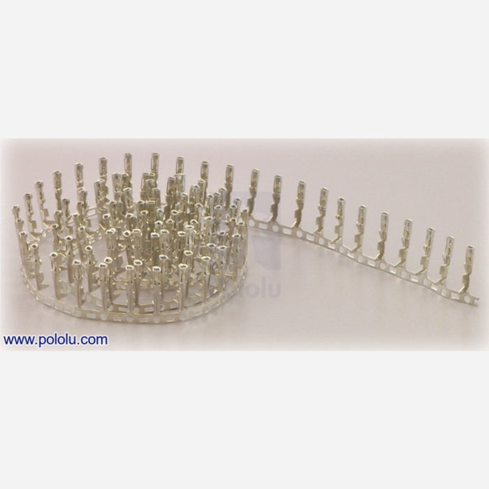 "Male Crimp Pins for 0.1"" Housings 100-Pack"
