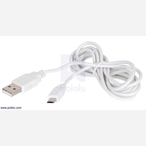 USB Cable A to Micro-B, 6 ft