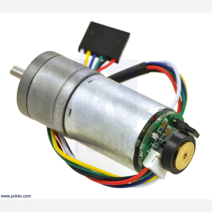 99:1 Metal Gearmotor 25Dx54L mm LP 6V with 48 CPR Encoder