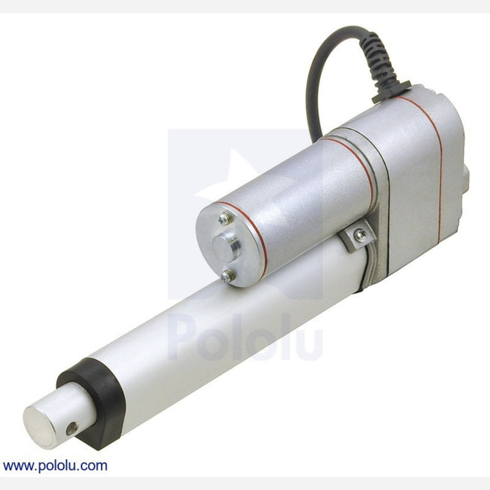 "Generic Linear Actuator with Feedback: 4"" Stroke, 12V, 1.5""/s"