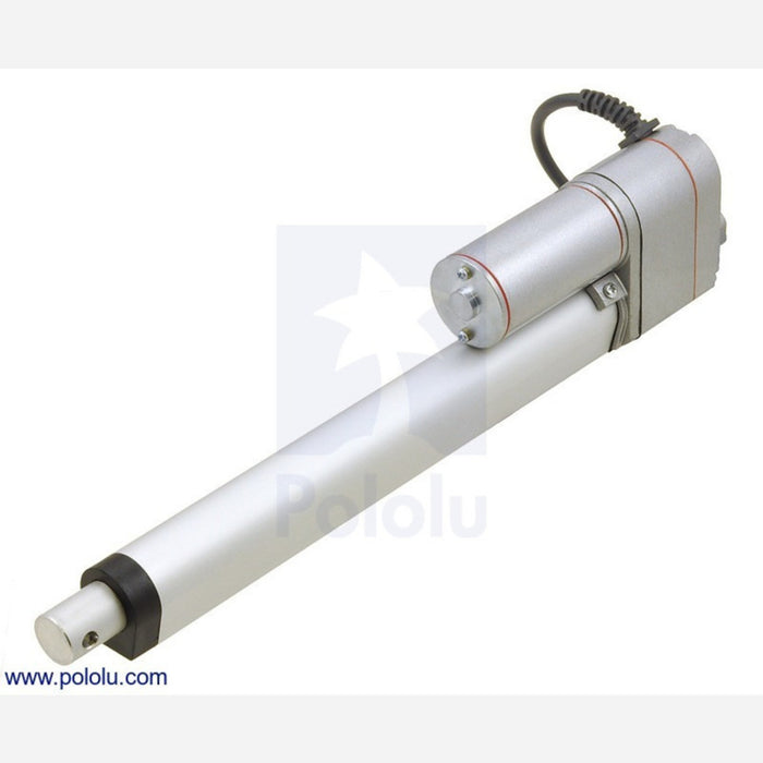 "Generic Linear Actuator with Feedback: 8"" Stroke, 12V, 1.5""/s"