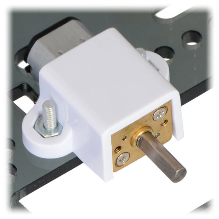 10:1 Micro Metal Gearmotor MP 6V