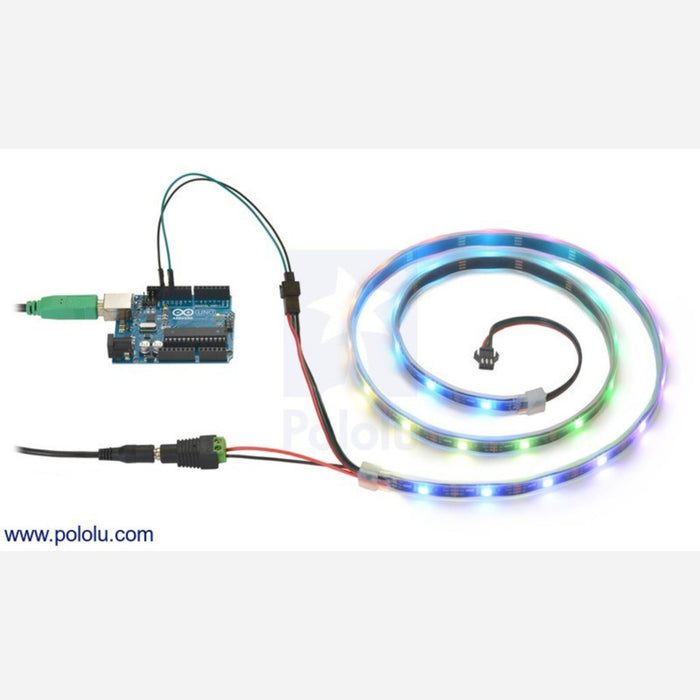 Addressable RGB 30-LED Strip, 5V, 1m (WS2812B)