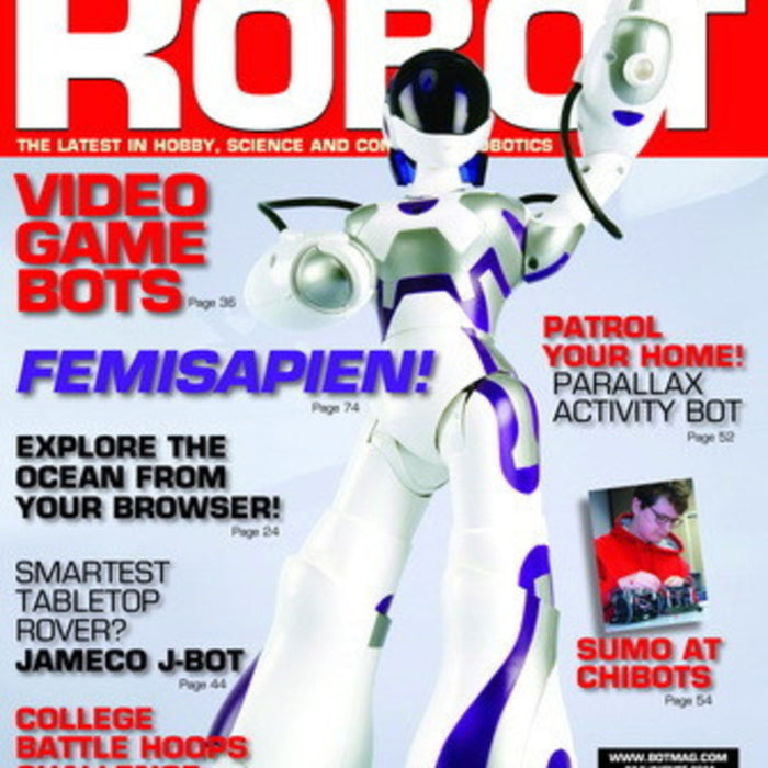 Free Robot magazine July/August 2014