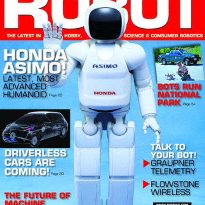 Free Robot magazine September/October 2014