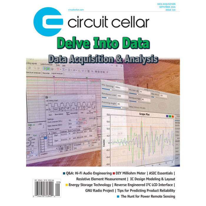 Free Circuit Cellar magazine September 2016