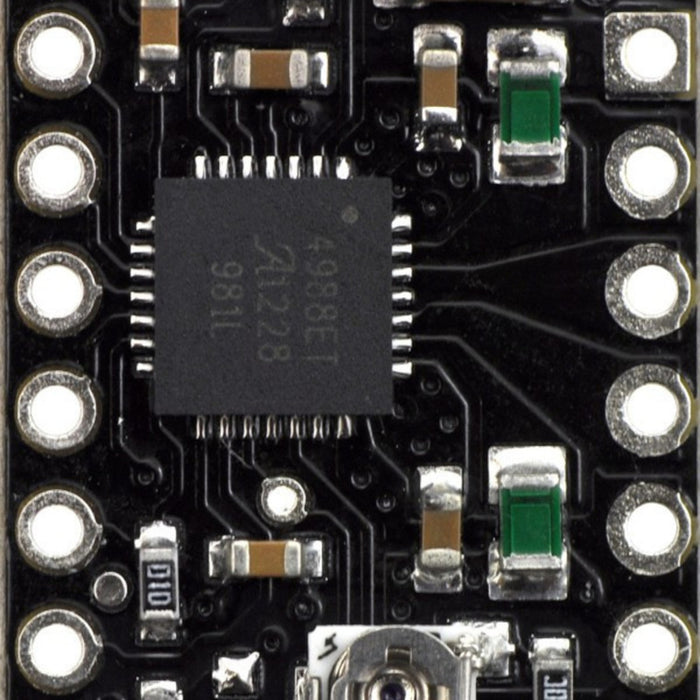 A4988 Stepper Motor Driver Carrier, Black Edition (Bulk, No Header Pins)