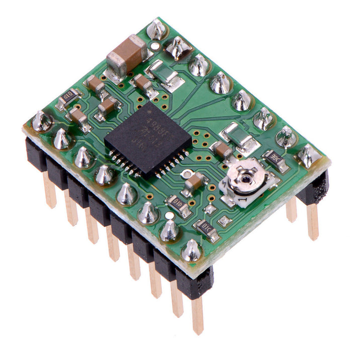 A4988 Stepper Motor Driver Carrier (Header Pins Soldered)
